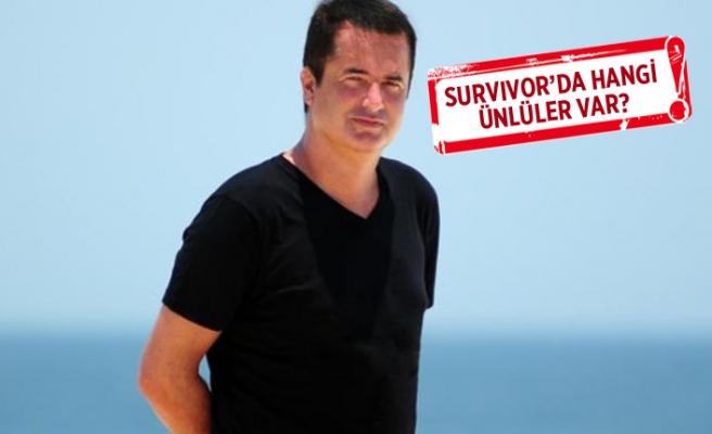 Acun Ilıcalı, Survivor'da yarışacak ikinci ismi açıkladı