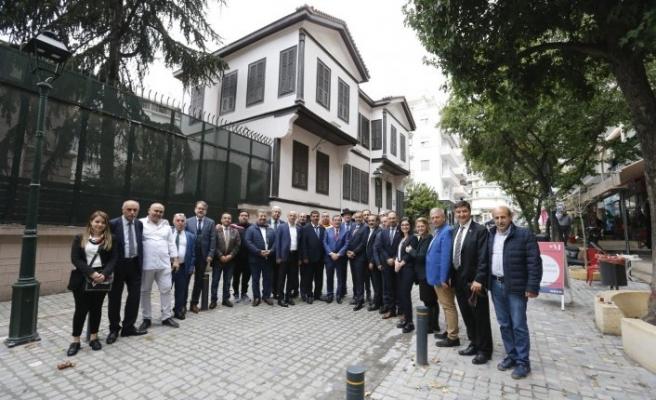 Başkan Batur'dan Selanik çıkarması