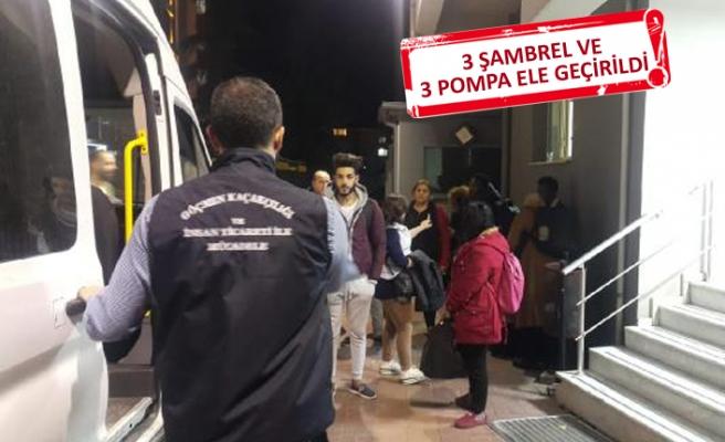 İzmir'de göçmen kaçakçılarına şok operasyon
