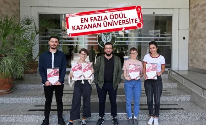 Tasarım yarışmasında Yaşar Üniversitesi'ne ödül yağmuru