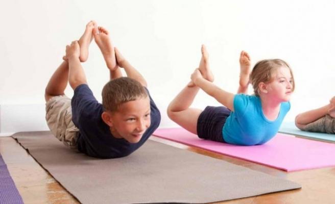 Çocuk pilatesi kas gelişimini etkiliyor