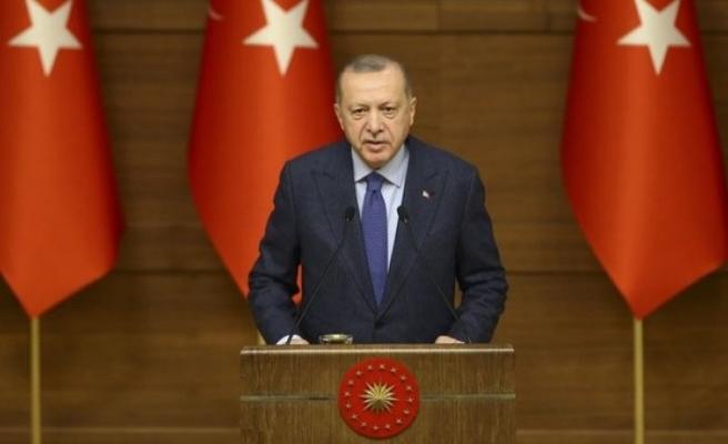 Erdoğan: Kanal İstanbul'u rafa kaldırmayız