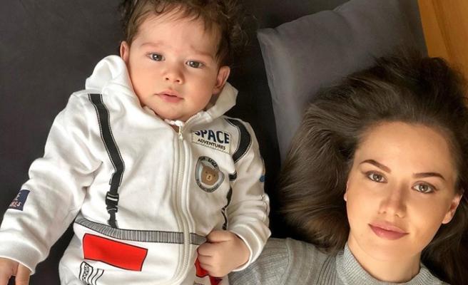 Fahriye Evcen'in bebeğini yoruma boğdular