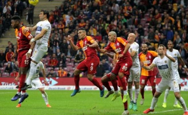 Galatasaray: 2 - MKE Ankaragücü: 2