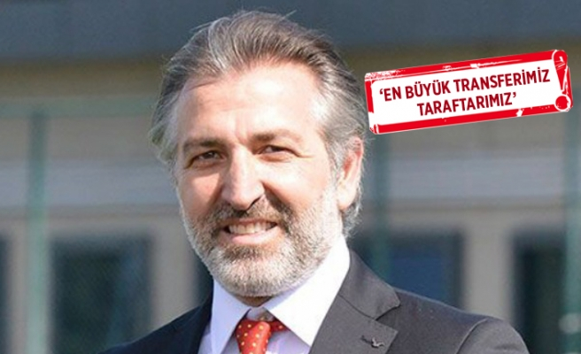 Göztepe Başkan Vekili Papatya: Hedefimiz 3'te 3 yapmak