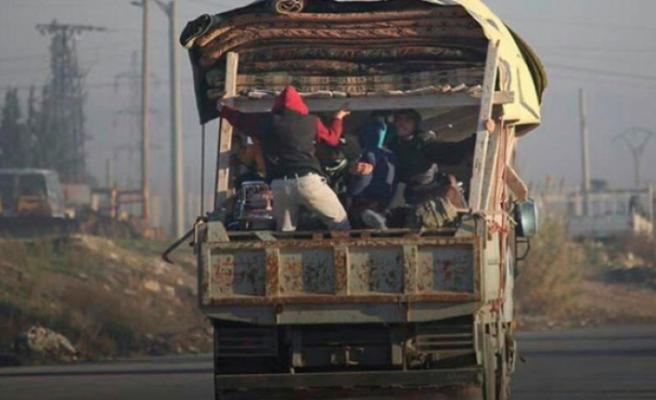 Suriye'de yeni göç dalgası başladı