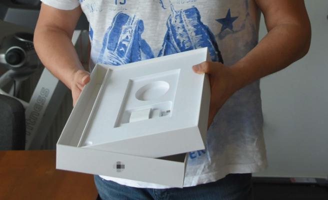 Tablet diye aldı, kutudan cam parçası çıktı!