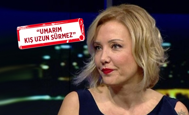 Berna Laçin, doğalgaz faturasına isyan etti!