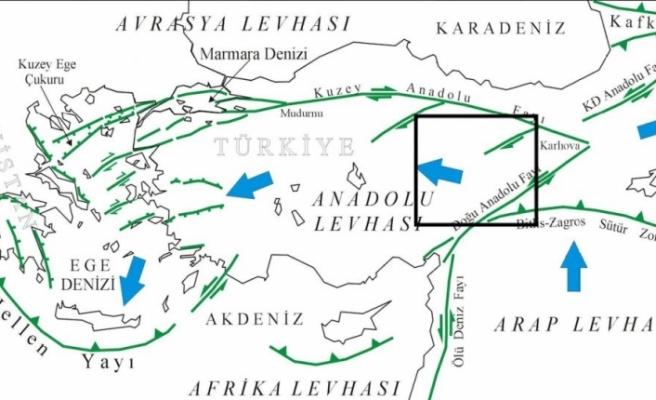 Doğu Anadolu fay hattı uyanmaya başladı!