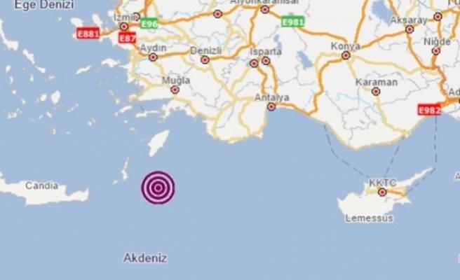 Ege durmuyor: 5,4 büyüklüğünde deprem