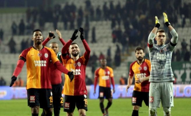 Galatasaray, Konyaspor'u 3-0 yendi
