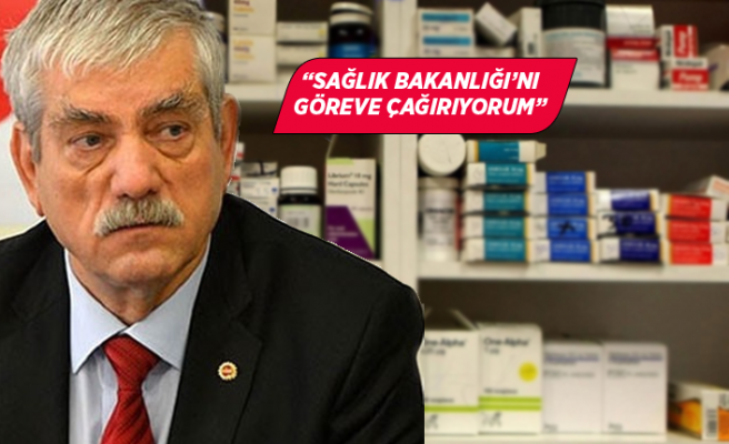 CHP'li Beko 'ilaç krizi'ni Meclis'e taşıdı!