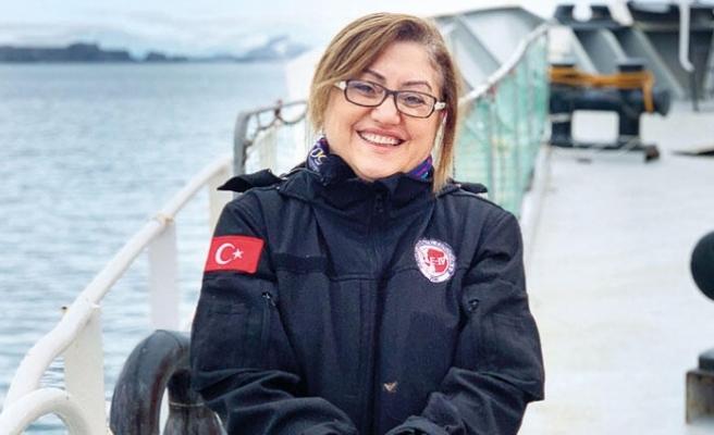 Fatma Şahin'den Antarktika gezisi için renkli açıklama