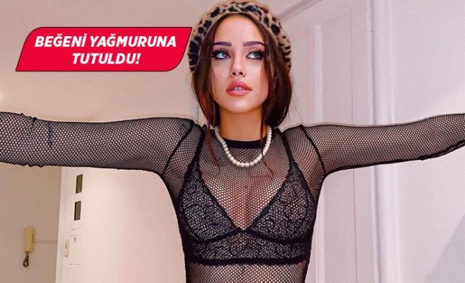 Hamdi Alkan'ın kızı Zeynep Alkan'dan cesur poz!