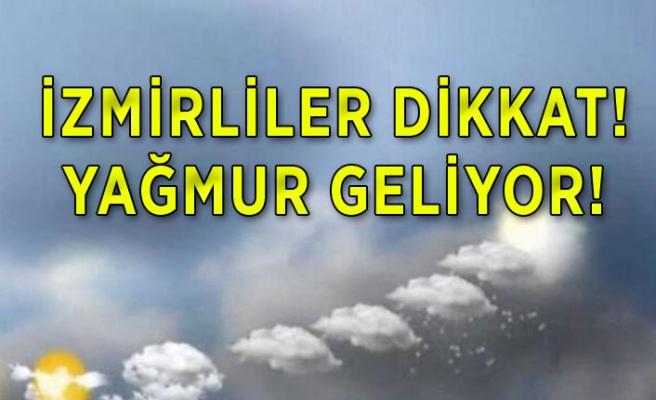 İşte İzmir'de 5 günlük hava durumu