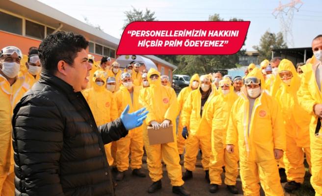 Başkan Kılıç'tan Covid-19 ekibine 400 TL moral primi