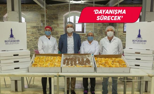 Büyükşehir'den sağlık çalışanlarına jest