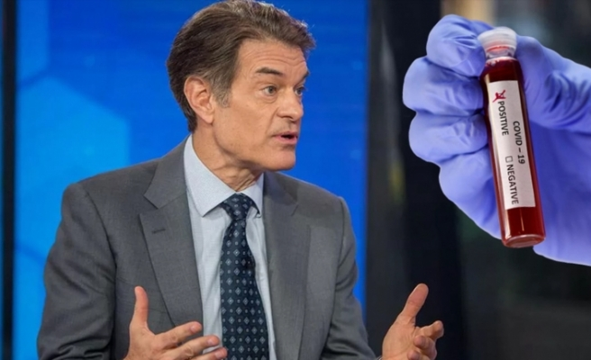 Dr. Mehmet Öz'e koronavirüs şoku! Pozitif çıktı!