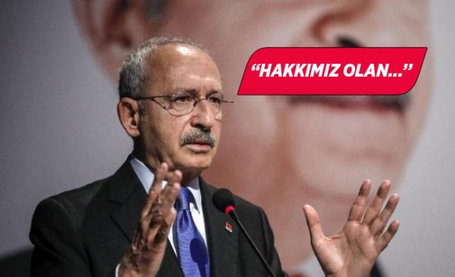 Gaziemir'de sözleşmeleri tek taraflı fesih edilen çalışanlar, Kılıçdaroğlu'na seslendi