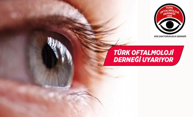 Gözler, koronavirüsün üç bulaşma yerinden biri