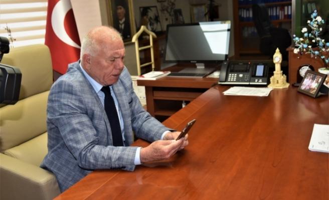 Kemalpaşa'da Koronavirüs'e karşı telekonferans uygulaması