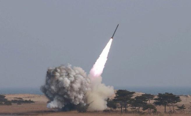 Kuzey Kore'den Doğu Denizi'nde füze denemesi