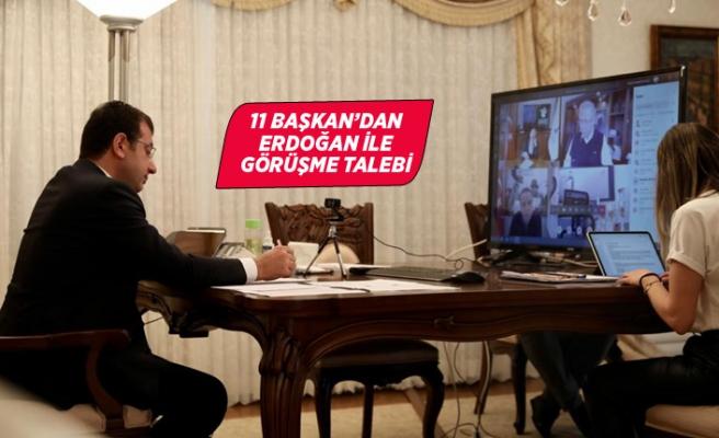 11 Büyükşehir'den Cumhurbaşkanı Erdoğan ile toplantı talebi