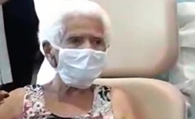 Brezilya'da 101 yaşındaki kadın Kovid-19'u yendi