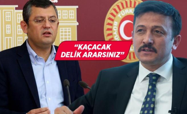 Hamza Dağ'dan CHP'li Özgür Özel'e sert sözler!