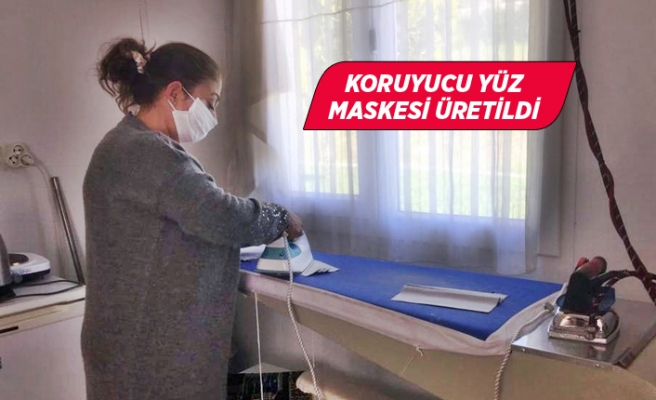 Sağlık çalışanlarına maske desteği