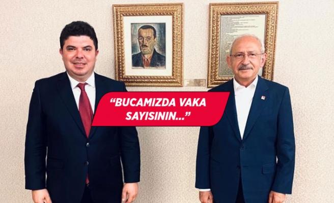 CHP'li Kılıç'tan Kılıçdaroğlu'na 'salgın raporu'