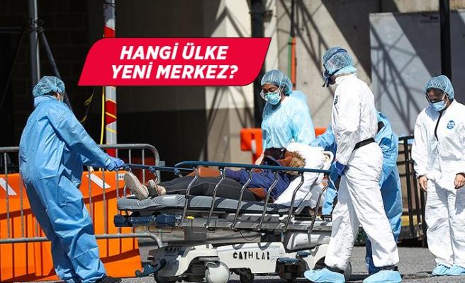Dünya Sağlık Örgütü salgının yeni merkez üssünü açıkladı