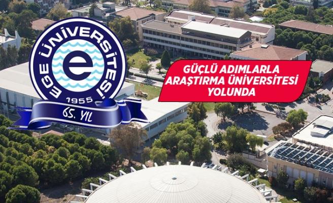 Ege Üniversitesi 65 yaşında