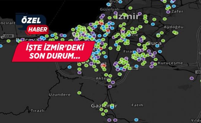 İzmir'in sayılarla 'korona' raporu: Kaç vaka var?