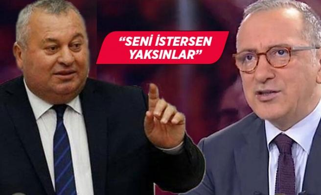 MHP'li Cemal Enginyurt'tan Fatih Altaylı'ya olay tepki