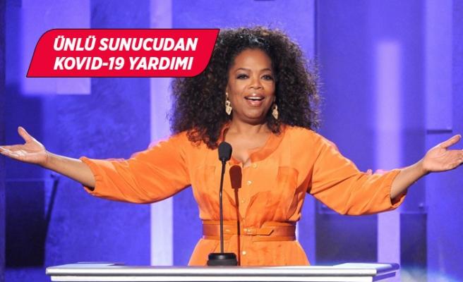 Oprah Winfrey'den 12 milyon dolarlık Kovid-19 yardımı