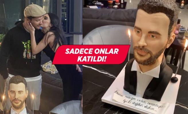 Sevgilisinden Sinan Akçıl'a sürpriz doğum günü!