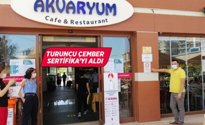 Çiğli Belediyesi Sosyal Tesislerine Turuncu Çember Sertifikası