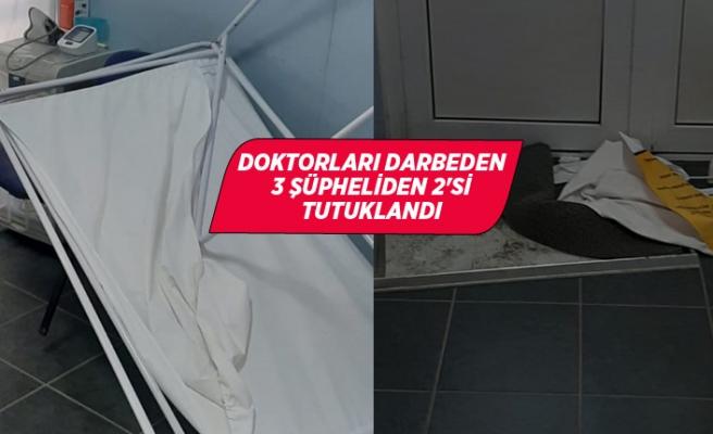 İzmir'de doktorları darbeden 3 şüpheliden 2'si tutuklandı