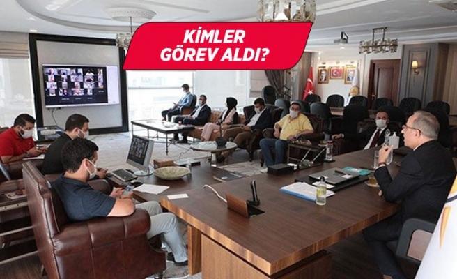 AK Parti İzmir'de, Meclis'te yeni görevlendirme