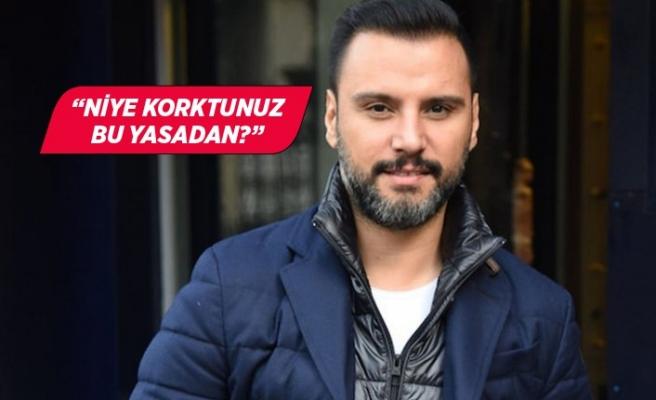 Alişan'dan Cumhurbaşkanı Erdoğan'a destek: Niye korktunuz ki?