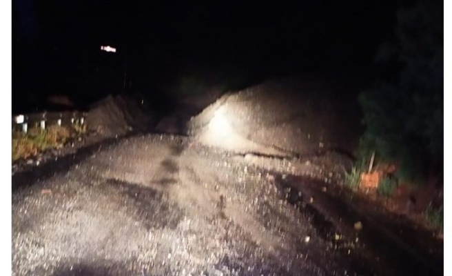 Artvin'de şiddetli yağış