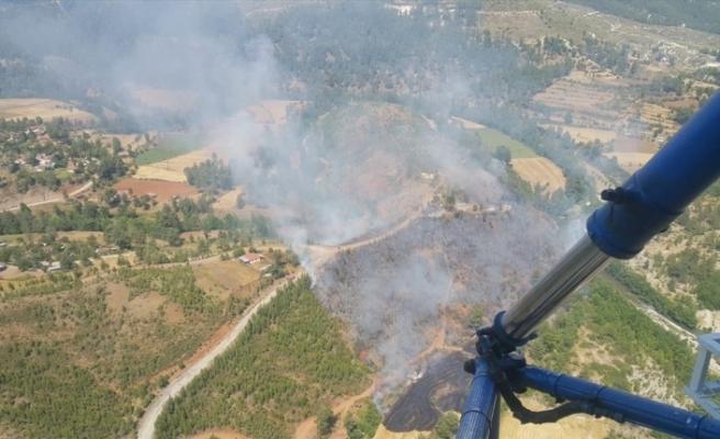 Denizli'de çıkan orman yangını kontrol altına alındı
