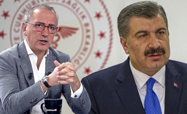 Fatih Altaylı'dan Fahrettin Koca'ya kritik soru!