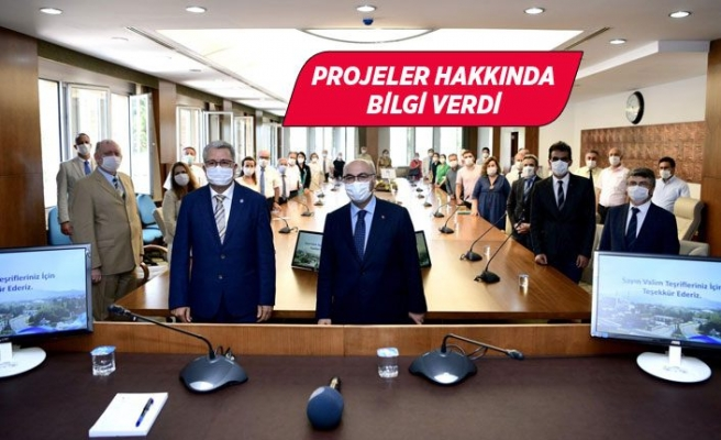 İzmir Valisi Yavuz Selim Köşger EÜ'yü ziyaret etti