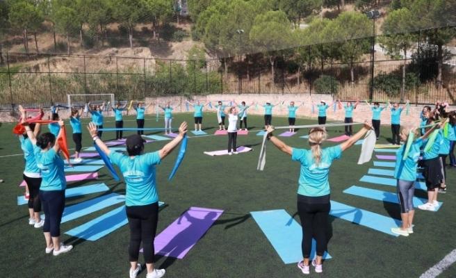 Karabağlar'da spor okulları önlemlerle açıldı