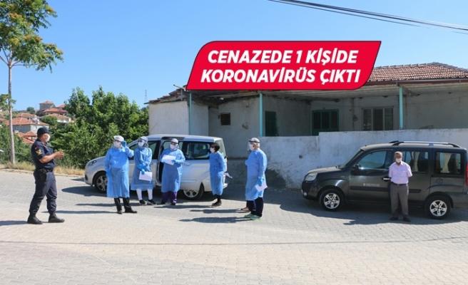 Manisa'da cenazeye katılan 139 kişi karantinada!