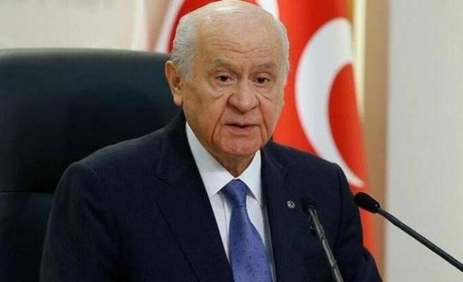 """MHP Genel Başkanı Bahçeli'den """"Ayasofya"""" açıklaması"""