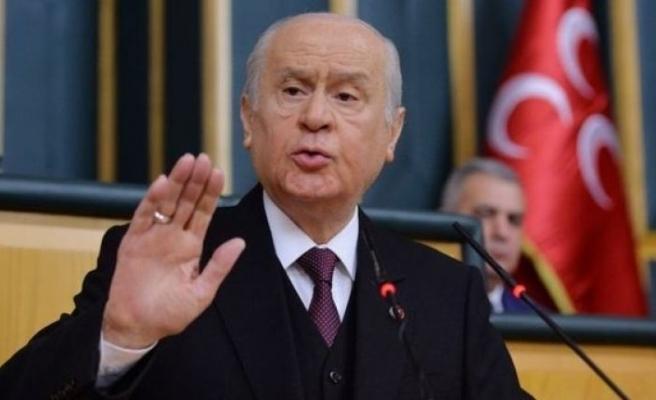 MHP Genel Başkanı Bahçeli'den şehitler için başsağlığı mesajı
