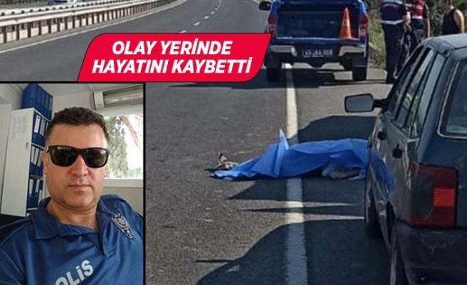 Polis memurunun acı sonu...